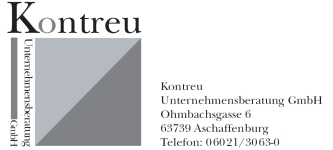 Logo Kontreu Unternehmensberatung