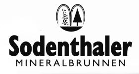 Logo Sodenthaler Mineralbrunnen GmbH